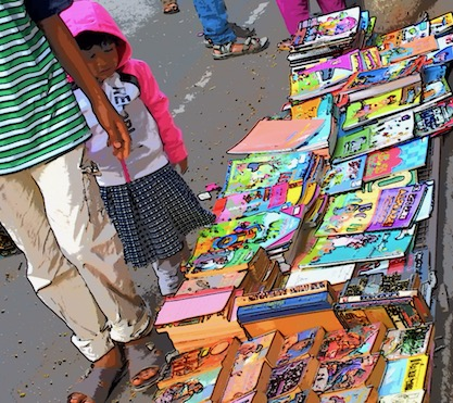 Hyderabad's addictive Sunday book fair of second hand delights will make you richer in words than you can ever imagine!